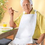 Senioren Hilfsmittel Speiseschürze